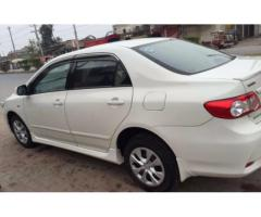 Toyota Corolla Xli Model 2011 White Color New Tyre For Sale In Faisalabad