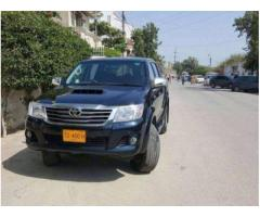 Toyota Hilux Model 2014 Scratch Less Body Automatic For Sale In Karachi