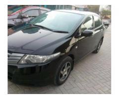 Honda City Black Color Model 2010 In Excellent Condition For Sale in Multan