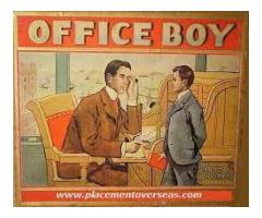 Office Boy Required For Our Office For  Opening Closing And Cleaning Service Wah