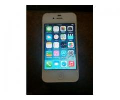 Apple iPhone 4 White Color 16GB Good Battery Timing For Sale in Mirpur