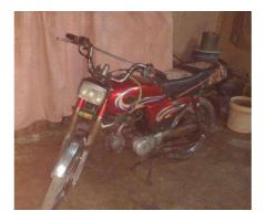 Yamaha Dhoom Bike Model 2013 Almost new Red color 70cc For Sale in Karachi