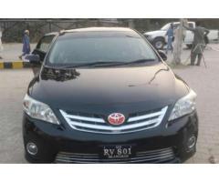 Toyota Corolla Gli Black Color Powerful Engine Scratch Less Sale in Rawalpindi