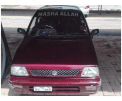 Suzuki Mehran In Excellent condition Model 2006 For Sale in Islamabad