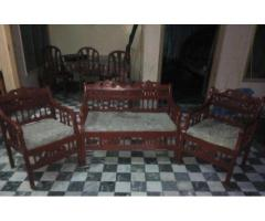 Sofa Having Four Seats Good Quality Recently Polished Sale In Faisalabad