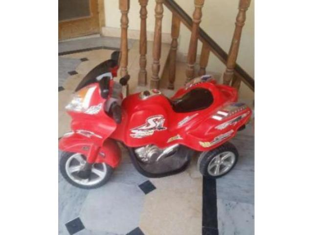Charging Bike Only 6 Month Used Red Color good condition For Sale In Rawalpindi
