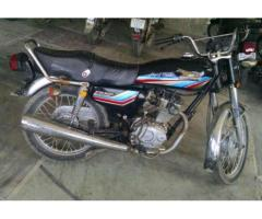 Super Power Bike 125 cc Model 2013 Black Color New Breaks For Sale In Karachi