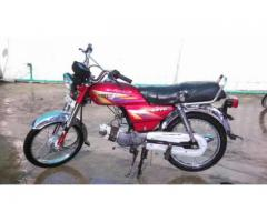 Pak Hero Bike Awesome Petrol Average Scratch Less Body For Sale In Sadiqabad