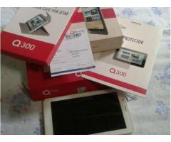 Q Tab With All Accessories White Color with Warranty For Sale In Hyderabad