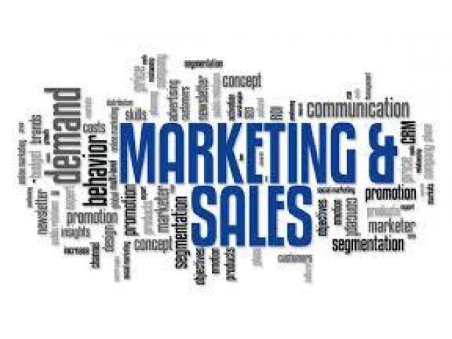 Sales And Marketing Staff Male And Female Required For Our