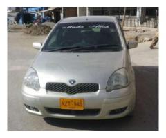Toyota Vitz Model 2002 Chilled Ac No Fault In Engine Available Sale In Quetta