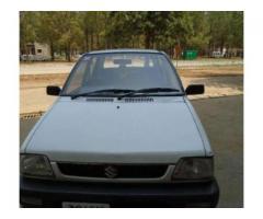 Suzuki Cultus Model 2008 In Excellent Condition For Sale in Islamabad