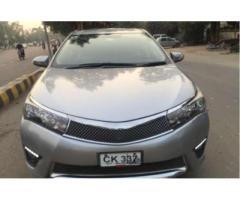 Toyota Corolla Gli Automatic Silver Color Chilled Ac For Sale In Lahore