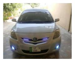 Toyota Belta White Color Model 2007 Latest Features For Sale In Sialkot