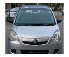 Daihatsu Mira Model 2011 Silver Color New Tyre For Sale in Lahore