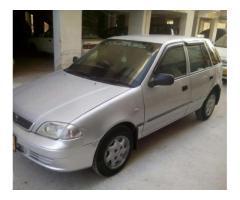 Suzuki Cultus Silver Color New Seats Model 2005 Available For Sale in Karachi