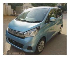Nissan Days Light Blue Color Model 2015 Automatic Almost New Sale in Karachi