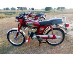 Yamaha 100cc Red Color Model 2000 All Spare Parts Genuine Sale In Bhimber,