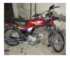 Ravi Motorbike 70cc Awesome Petrol Average Model 2012 Sale In Islamabad