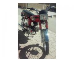 Yamaha Bike New Engine Model 1991 Red Color Good Condition Sale in Quetta
