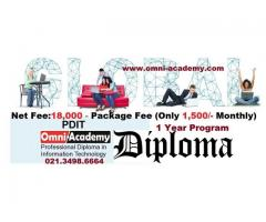"""Professional Diploma in Information Technology """"Admission Open"""""""