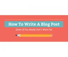 How To Write High Quality Blog Post Learn It Through Following these Steps