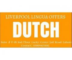 Learn German, French, Dutch, Spanish, Italian, Portuguese languages Lahore