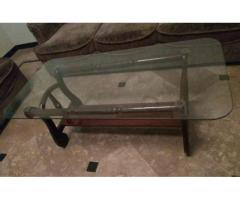 Center Table With Two Side Tables With Strong Glass Available Sale in Rawalpindi