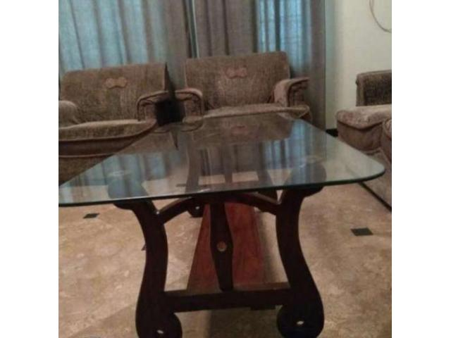 Center Table With Two Side Tables Strong Glass Available Sale In Rawalpindi