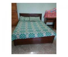 Two Simple Double Bed Pure Wood Is Used Good Quality For Sale In Rawalpindi