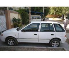 Suzuki Cultus White Color No Fault Scratch Less Body For Sale In Karachi