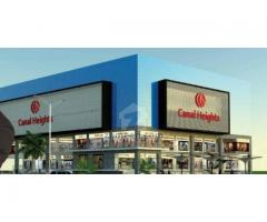 Prices Details Of Canal Heights Faisalabad Offices And Shops On Installments