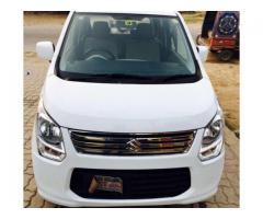 Suzuki Wagon R Model 2013 White Color Luxury Car For Sale In Sialkot