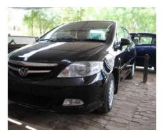 Honda City Model 2008 Black Color New Tyre Good Condition Sale In Bahawalpur