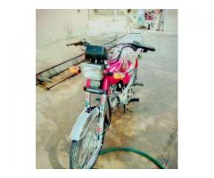 Honda 125 Red Color Almost New Model 2015 For Sale in Swabi