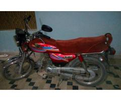 Motorcycle Like Honda Cd 70 Red Color Model 2012 Sale in Rahimyar Khan