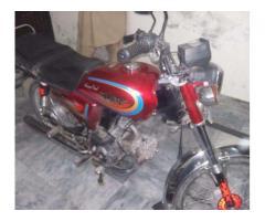Hero Bike 70 cc Genuine Condition Model 2012 Negotiable Price Sale in  Isb