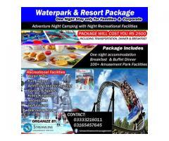Water park & Resort Package for Families & Corporate - Karachi