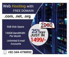 Web Hosting Services Suitable Packages Through Webitech -Lahore