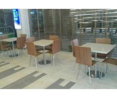 Furniture For Fast Food Restaurant Almost New Furniture For Sale in Islamabad