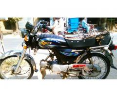 Yamaha Dhoom Black Color New Seat Excellent Condition Sale In Pakpattan