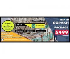 Tour to Gorakh Hills (Every Saturday and Sunday)