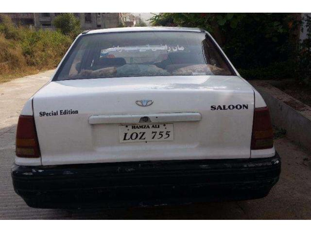 Daewoo Racer White Color Model 1996 Scratch Less Body Sale In