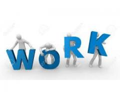 Male And Female Staff Required For Office Work In Company In Rawalpindi