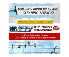 window glass cleaning