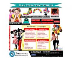 Let us help you create an event | Streamline Event Management