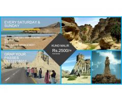 Trip to Kund Malir   Booked Your Seats Coming Sunday