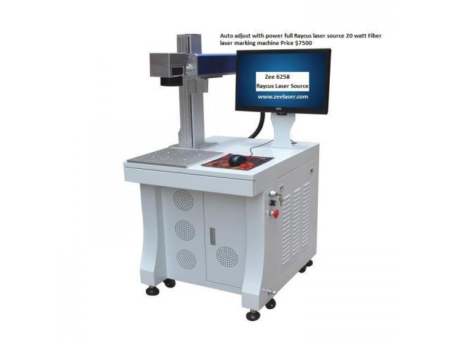 Fiber Laser Marking machine 20 watt Brand New Price $7500
