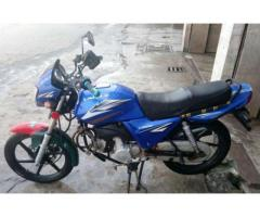 Unique Bike Heavy Bike Blue Color Powerful Engine For Sale In Peshawar