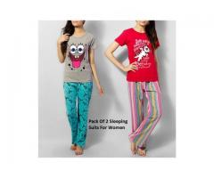Women Sleeping Suits in Pakistan Call 03218001292